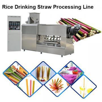 High Speed Drinking Rice Biodegradable Paper Straw Making Machine