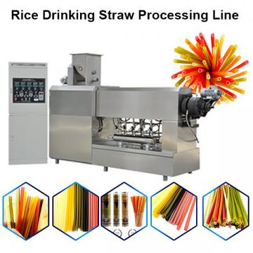 Automatic multi-blade cutting system biodegradable rice straw drinking rice spoon rice paper making machine