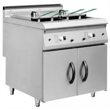 Large Capacity 44L Stainless Steel Deep Oil Water Mixed Electric Fryer