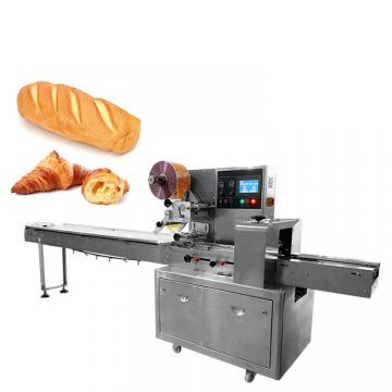 Biscuit, Moon-Cake, Sandwich Swiss Roll Servo Control Food with Ttay Automatic Packaging/Packing/Package/Wrapping/Box Sealing Motion Machine