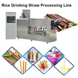 Industrial Biodegradable Edible Ecoware Rice Tapioca Drinking Straw Maker Making Machine